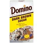 Domino Dark Brown Sugar 1Lb. Box (3-Pack)