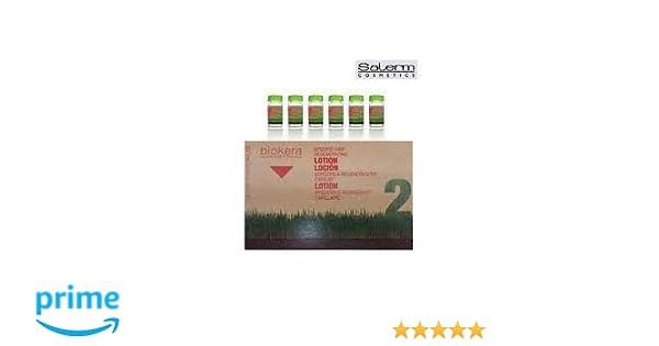 Salerm Cosmetics Loción Específica Regeneradora Capilar - Paquete de 6 x 10 ml - Total: 7.00ml: Amazon.es: Belleza