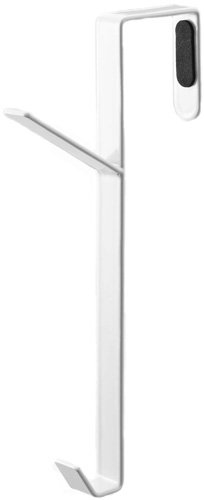YAMAZAKI home Smart Over The Door Hooks, White