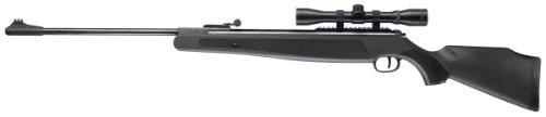 Ruger Air Magnum Break Barrel Pellet Gun Air Rifle with 4x32mm Scope, .22 Caliber (Best Pellet Gun For Rabbits)