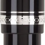 Pilot Namiki Falcon Collection Fountain Pen, Black with Rhodium Accents, Soft Fine Nib (60741)