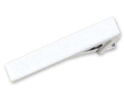 The Tie Bar C744 White 1 1/2 Inch Tie Bar