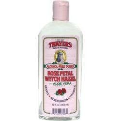 THAYERS Rose Petal Witch Hazel Toner - Alcohol Free & Organic Aloe Vera