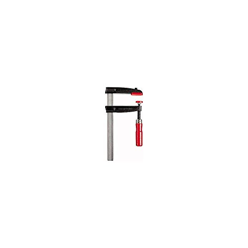 Bessey TGRC30S10 Screw Clamp Tgrc 11.81In/3.94In of Cast-IRON, Black/Red/Silver by Bessey