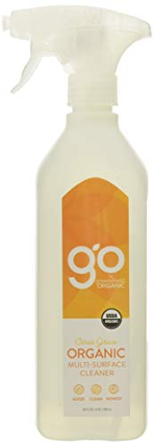 GO by GreenShield Organic, 26 oz. Multi-Surface Cleaner- Citrus Grove