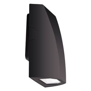 RAB Lighting SLIM18 Slim Cool LED Wall Pack, Aluminum, 18W Power, 1909 Lumens, 277V, Bronze