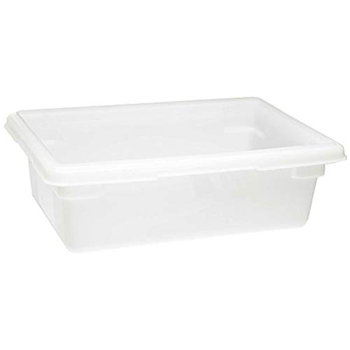 Any-Season-Store 14 Qt Storage Containers with Lids Tight-Fitting Snap-On Keep Your Food Fresh White ()