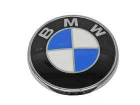 Trunk Convertible - BMW 3-series CONVERTIBLE (07-11) Trunk Roundel GENUINE new