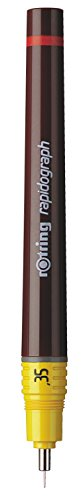 Rotring Rapidograph Technical Drawing Pen Junior Set, 3 Pens with Line Widths of 0.25mm to 0.5mm, Brown (S0699480) by Rotring (Image #2)