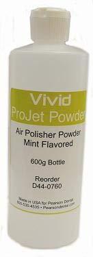 Vivid Projet Powder - Air Polisher Powder Mint Flavor - 600g