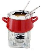 Chantal Enamel-On-Steel Classic Fondue Set