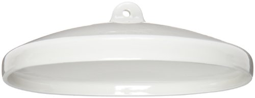 CoorsTek 60129 Porcelain Ceramic Crucible Cover, Size M, 105mm ID (Case of 36) (Porcelain Crucible Covers)
