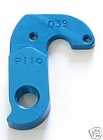 Pilo D39 Blue Derailleur Hanger - Fits:rocky-mountain Vertex, Fusion, Trailhead, Latitude, Etsx Ellsworth Voodoo (Rocky Mountain Derailleur Hanger)