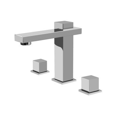 Graff Widespread Bath Faucet - Structure Widespread Bathroom Faucet Finish: Polished Chrome