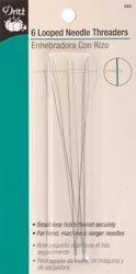 Bulk Buy: Dritz Looped Needle Threader 6/Pkg 252 (3-Pack) Prym Consumer USA Inc.