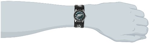 "846043009903 - Game Time Unisex NFL-ROB-PHI ""Rookie Black"" Watch - Philadelphia Eagles carousel main 1"