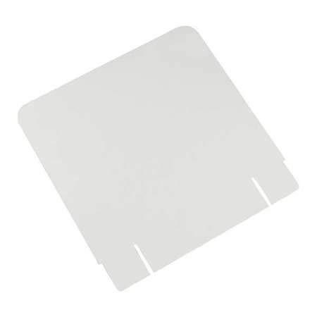 Bin Floor Display Header Cards, Whte, PK10