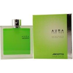 Price comparison product image Aura for Men By Jacomo Eau-de-toilette Spray,  2.4-Ounce