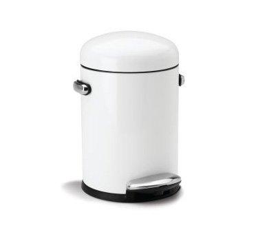 white simplehuman trash can - 7
