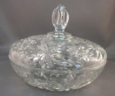 Vintage EAPC Star of David 7 1/2 in. Covered Candy Dish