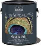 Modern Masters MM200 Matte Metallic Paint, Pale Gold, Gallon