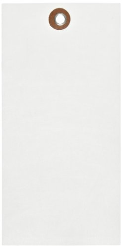 Quality Park G13081 Tyvek Spunbonded Olefin Shipping Tag, 6-1/4'' Length x 3-1/8'' Width, White (Case of 1000) by Tyvek