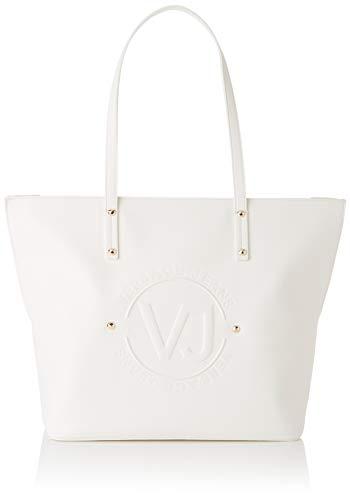 Versace Bag, Sac à bandoulière pour femme, 14x29x42 Cm (w X H L) Blanc (Blanc optique)