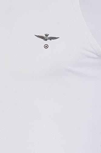 Blanc Larenzo Aeronautica Aeronautica Aeronautica Débardeur Militare Débardeur Militare Larenzo Blanc wIBqIfUz