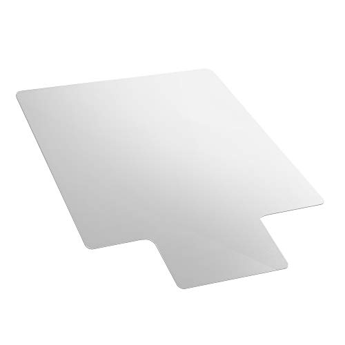 AmazonBasics Polycarbonate Chair Mat with Lip for Hard Floors - 47