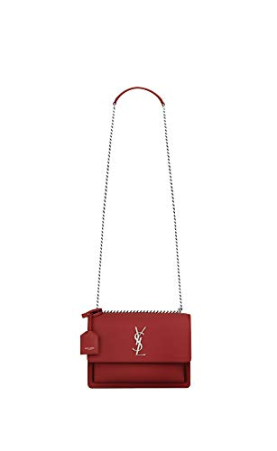 Paper Yves Saint Laurent Women handbags sunset CHAIN AND SMOTH LEATHER SHOULDER for women (Yves Saint Laurent Leather Shoulder Bag)