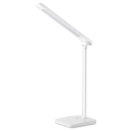 Lámpara de mesa LED lámpara de mesa de oficina plegable recargable ...