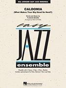 (Hal Leonard Caldonia - Easy Jazz Ensemble Series Level 2)