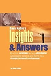 Insights & Answers: Real-Life Solutions to Help Distributor Salespeople