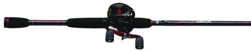 Abu Garcia Black Max Low Profile Medium Baitcast Combo, 6-Feet 6-Inch (Pack of 1), Outdoor Stuffs