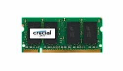 Price comparison product image Crucial Technology 2GB DDR2 SDRAM Laptop Memory Module