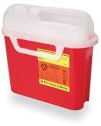 BD Sharps Container, Side Entry - 5.4 Quart, Red - Each by BD