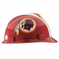 Mine Safety App - Standard V-Gard Hard Capw/Washington Redskins, Sold As 1 Each