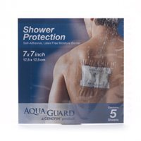 Aqua Guard Moisture Barrier, Latex Free,9 x 9 5 ea