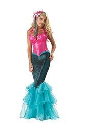Mermaid Costume - X-Large - Dress Size 16-18 (Starfish Adult Costume)