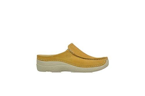 Wolky SeamySlide 10920 ocker gelb nubukleder - kramer-mg.de 54717d30b9