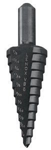 Lenox 30908-VB8 Vari-Bit 3/16-Inch to 7/8-Inch Step Drill Bit with 3/8-Inch Shank