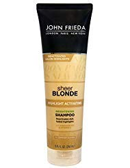 (John Frieda sheer blonde Highlight Activating Enhancing Shampoo For Lighter Blondes 8.45)