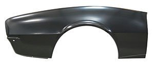 68 Camaro Quarter Panel - Auto Metal Direct 709-3568-R Quarter Panel Skin