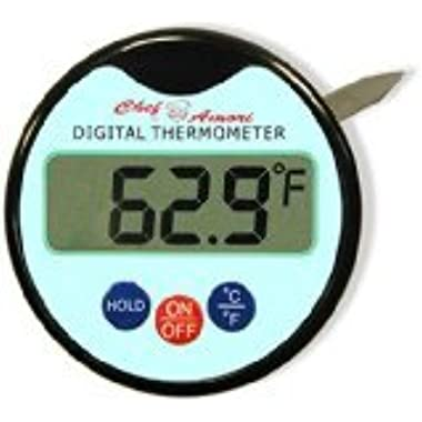 Digital Meat Thermometer with Probe for Steak Turkey Chicken Food Barbecue Cooking Grill Candy BBQ