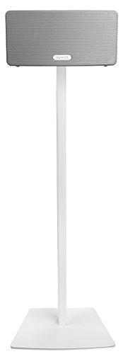 Cavus Speaker Stand Sonos PLAY 3 Speaker Floorstand - CSP3W - White