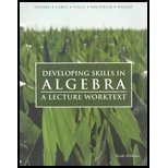 Developing Skills in Algebra 6th Edition