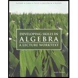 Developing Skills in Algebra, , 1932628223