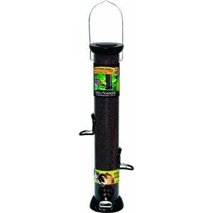 Droll Yankees CC18N 18-Inch Onyx Nyjer Tube Bird Feeder with Removable Base, My Pet Supplies