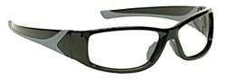 Turbo-Guard X-Ray Radiation Protection Glasses, 0.75mm Pb Equivalency Lens, Black by Colortrieve