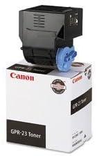 3 X Canon GPR-23 Black Toner